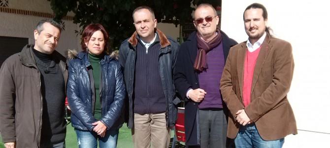 IU Rincón denuncia la privatización de la Guardería Municipal en un encuentro con la Plataforma por el 4º Instituto
