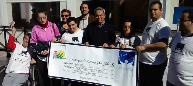 IU participa en la lucha de Amirax colaborando con 100 euros en la campaña de Crowdfunding que el colectivo está llevando a cabo para financiar su Centro de Día