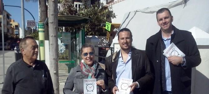 IU Rincón presenta 'Es la Hora', la campaña para transformar Andalucía