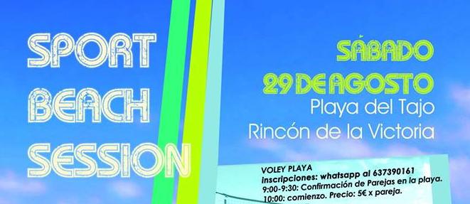 Deporte organiza la `Sport Beach Session´ con una jornada lúdico-deportiva con actividades abiertas y torneos
