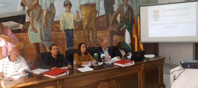 El Gobierno elabora un nuevo presupuesto municipal para 2016 que prioriza las políticas sociales y el empleo