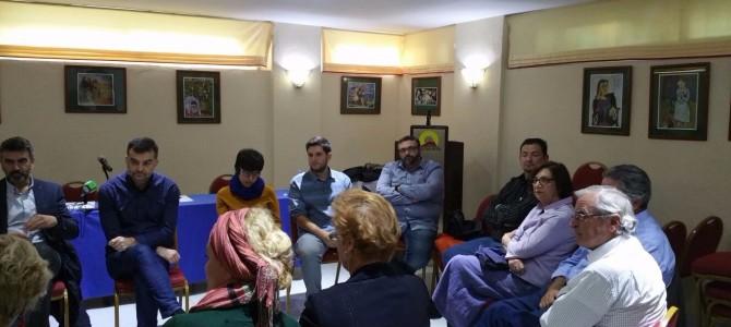 Antonio Maíllo da el pistoletazo de salida a la campaña de Unidad Popular en Rincón con un encuentro con colectivos del municipio