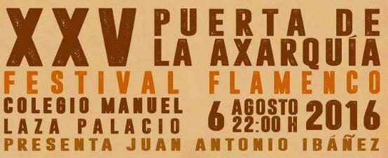 Rincón celebra el 25º aniversario del Festival Flamenco `Puerta de la Axarquía´ de la Peña El Piyayo