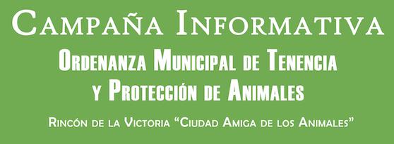 Rincón lanza una campaña informativa para dar a conocer la nueva Ordenanza Municipal de Tenencia y Protección de Animales