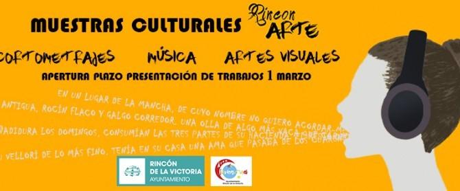 Juventud presenta el I Certamen de muestras culturales `RinConArte´ para las Artes Visuales, Cortometrajes y Música