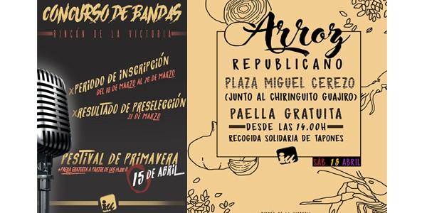 Jóvenes de IU potencian la cultura urbana con el III Concurso de Bandas del Festival de Primavera cuyo plazo estará abierto hasta el próximo domingo 26 de marzo