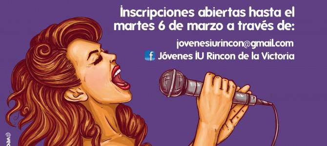 IU Rincón y Jóvenes de IU organizan una jornada de micro abierto para conmemorar la lucha feminista el próximo 7 de marzo