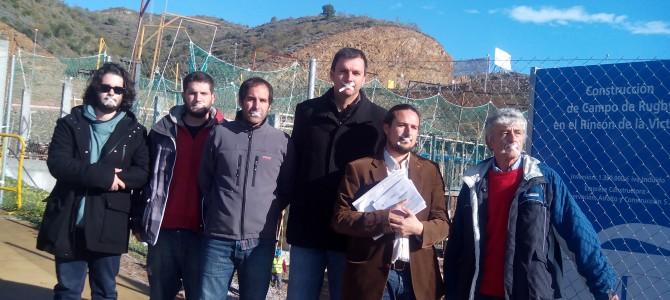IU no asistirá a la inauguración del Campo de Rugby Manuel Becerra para mostrar su total disconformidad con que se haya malgastado 1,39 millones de euros en una infraestructura no deseada por Rincón de la Victoria