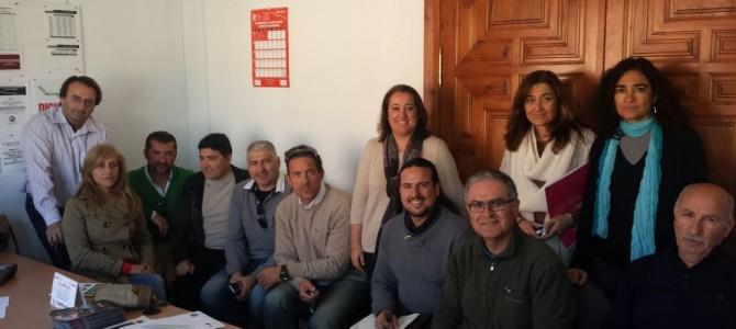 IU se reúne con trabajadores y sindicatos del Ayuntamiento de Rincón para escuchar sus reivindicaciones tras meses de lucha para llegar a un acuerdo con el Gobierno en torno al convenio colectivo