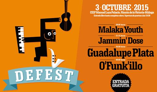 Rincón organiza el Festival de Música `DeFest´ 2015 como alternativa de ocio cultural