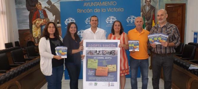 El Ayuntamiento y la Protectora de Animales organizan la primera campaña de concienciación y adopción `Rincón Corazón Animal´