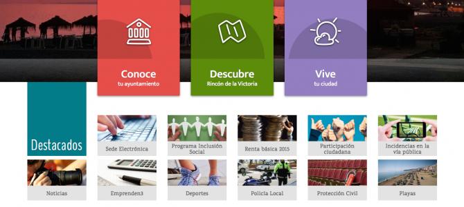 El Ayuntamiento de Rincón pone en marcha una nueva Web más accesible y adaptada a dispositivos móviles