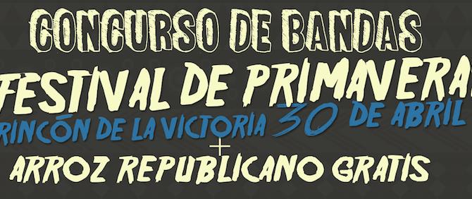 IU Rincón anuncia la celebración de una nueva edición del Arroz Republicano y el Festival de Primavera