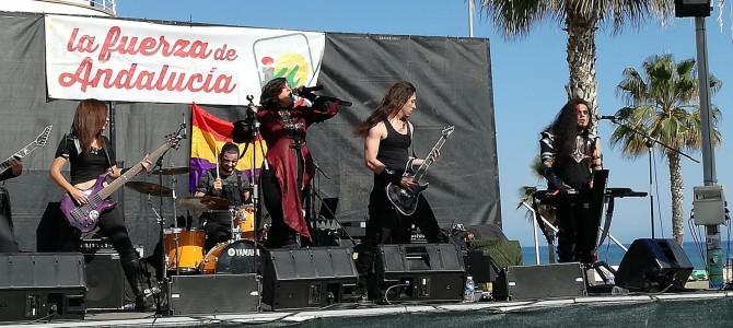 Musicómanos y Clusterfucks, ganadores del Concurso de Bandas del Festival de Primavera organizado por Jóvenes de IU